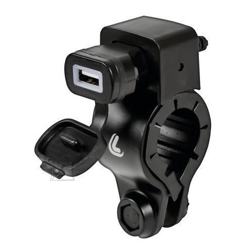 Kiirlaadija, USB pesa mootoratta juhtraua kinnitusega