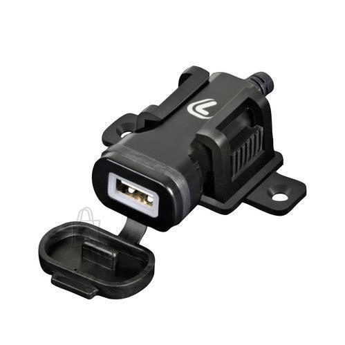 2 Kiirlaadija, USB pesa, mootorrattale kruvi kinnitusega