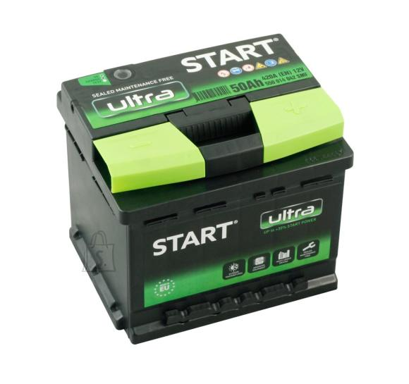 Start Ultra 50Ah420A 207x175x175-+