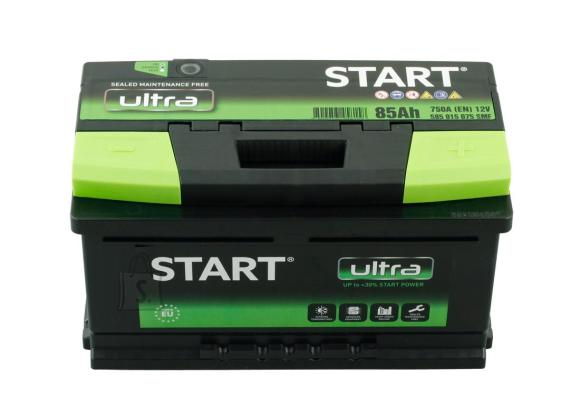 Start Ultra 85Ah 750A 315x175x175-+
