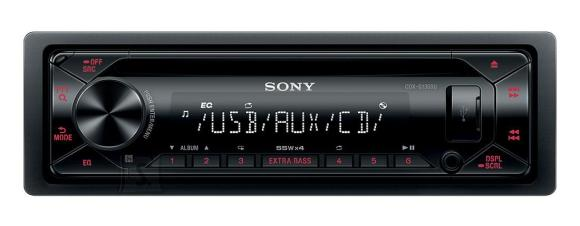 Sony CDXG1301U  / 4 x 55W MP3/WMA/FLAC/CD mängija - FM raadio (RDS/EON)
