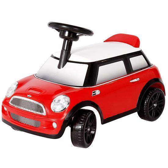 Jalgadega lükatav Mini, punane