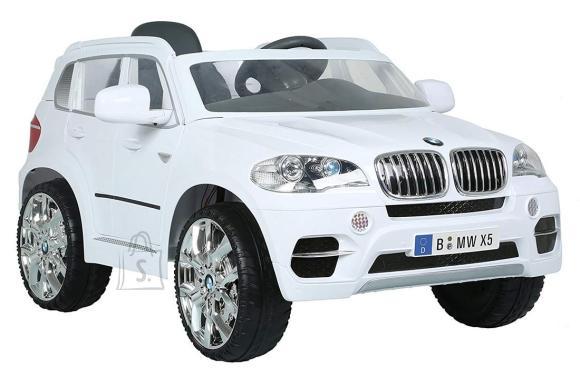 BMW X5 SUV, 12V, valge