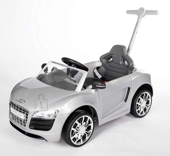 Audi jalgadega lükatav, hõbe