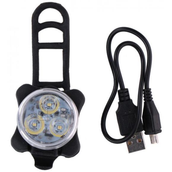 Laetav jalgratta LED esituli, 3W, 3,7V,