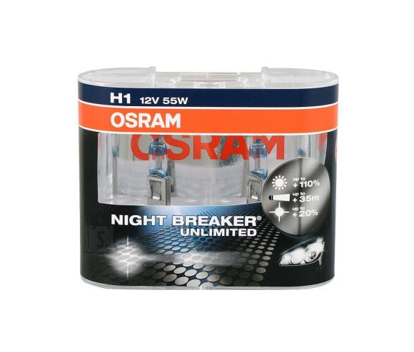 Osram H1 Nightbreaker Unlimited 2tk