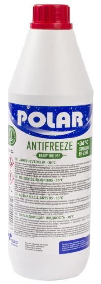 Polar Jahutusvedelik Polar -36C Antifreeze 1l