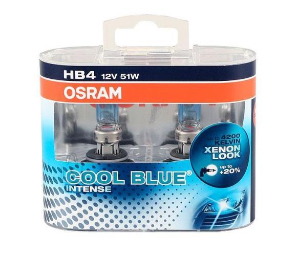 Osram Autolambid Cool Blue Intense 12V HB4 51W P22D