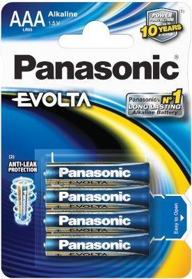 Panasonic Evolta AAA patarei 4 tk
