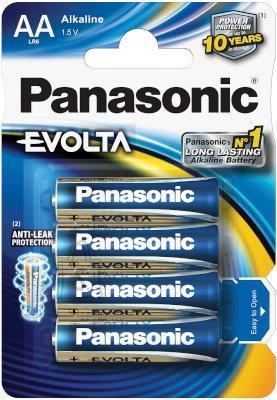 Panasonic AA patarei Evolta 4 tk