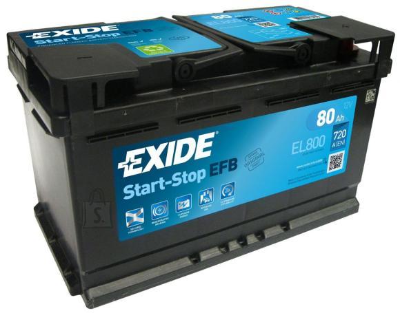 Exide Aku Micro-Hybrid 80Ah 720A 315x175x190 -+