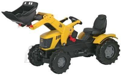 Rolly Toys Pedaalidega traktor lastele kopaga JCB 8250 Farmtrac
