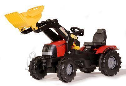 Rolly Toys Pedaalidega traktor lastele Case Puma kopaga
