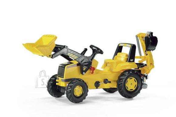 Rolly Toys Cat Backhoe laaduri ja kopaga