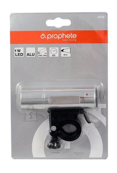 Prophete Esituli-taskulamp LED 1W metallist