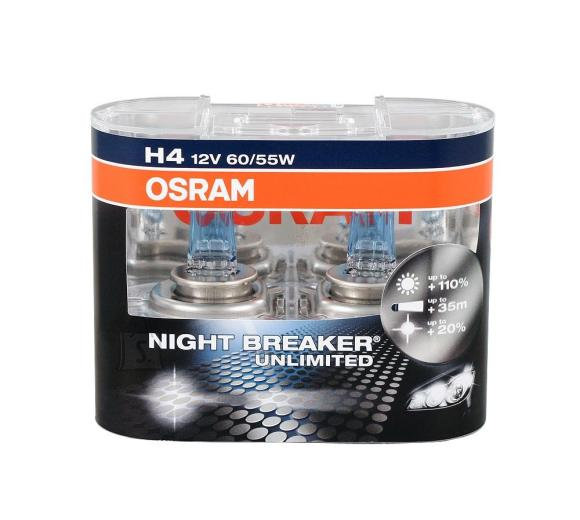 Osram H4 Nightbreaker Unlimited esitule lamp 2tk