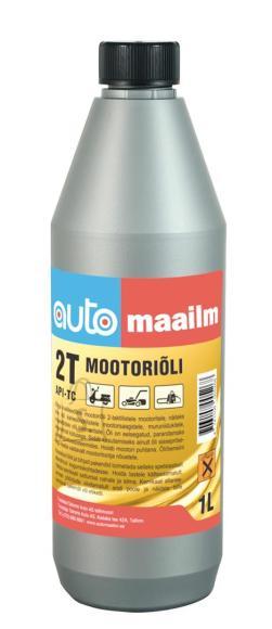 2-taktilise mootori õli Automaailm 1L