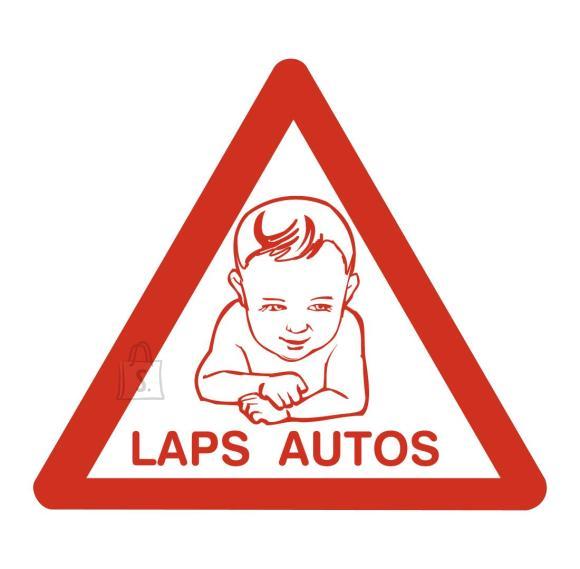 Laps autos, väline kleebis