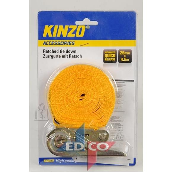 Kinzo Koormarihm pingutiga 25mm 4,5m