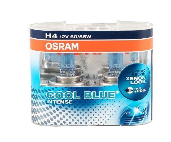 Osram Autolambid Cool Blue Intense H4 12V 60/55W P43T
