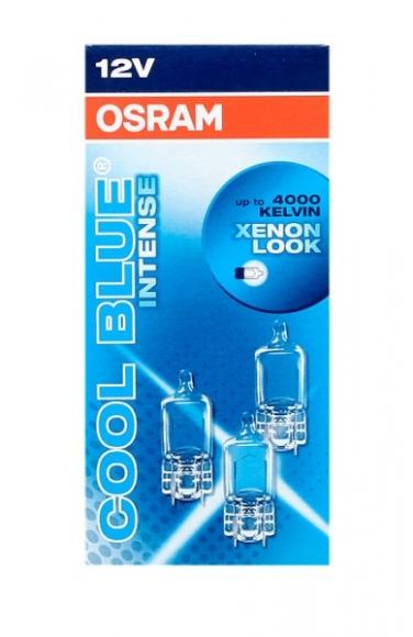 Osram Autolamp 12V W5W 5W W2.1x9.5d CBI+halogeen