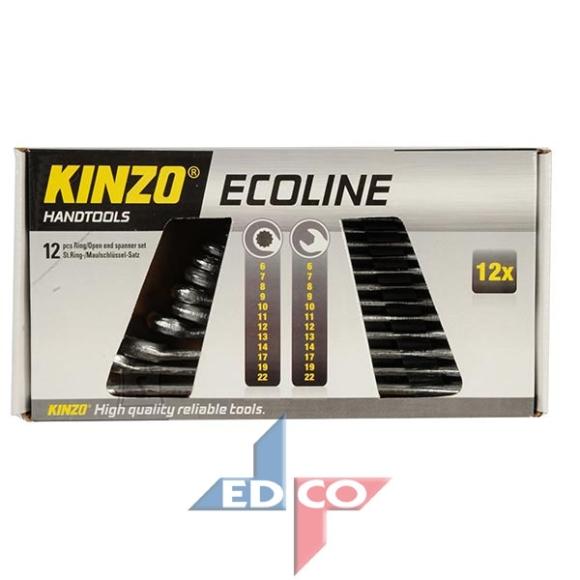 Kinzo leht-silmusvõtmete komplekt 6-22mm 12osa