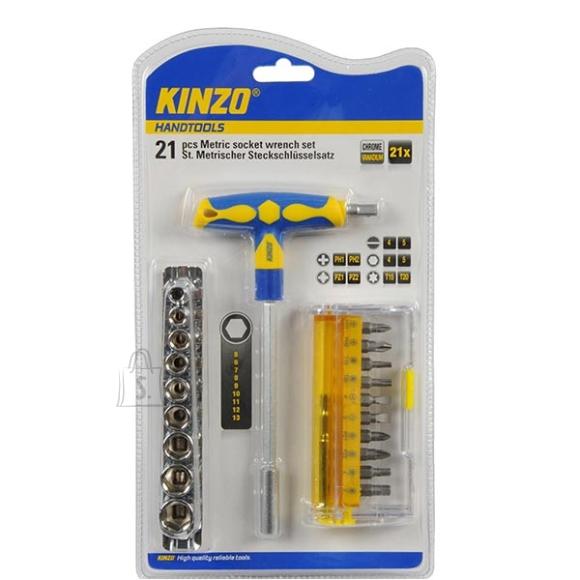 Kinzo T-kruvikeeraja 21 osa