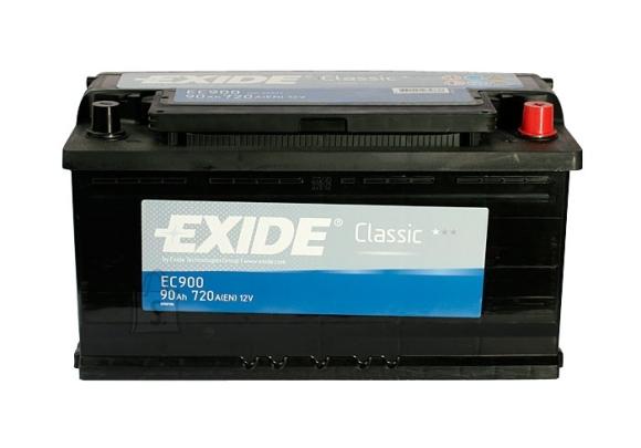 Exide aku Classic 90Ah 720A 353x175x190 -+