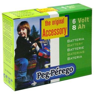 Peg Perego Aku laste elektriautole 6V 7Ah