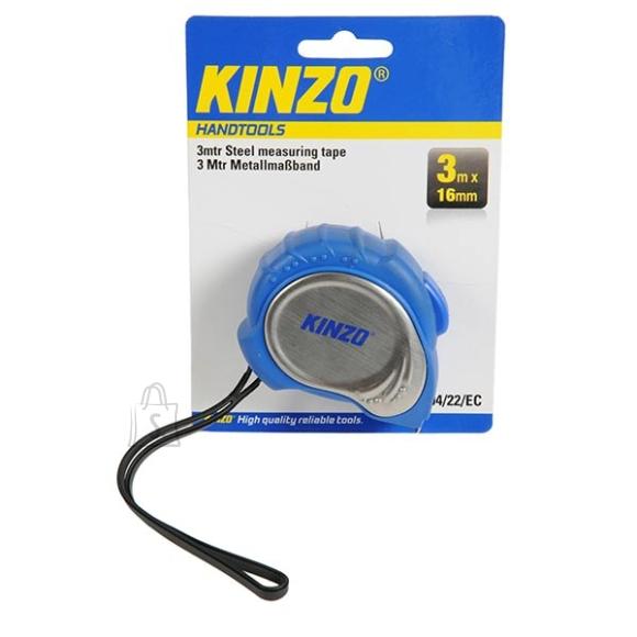 Kinzo mõõdulint 3m 16mm