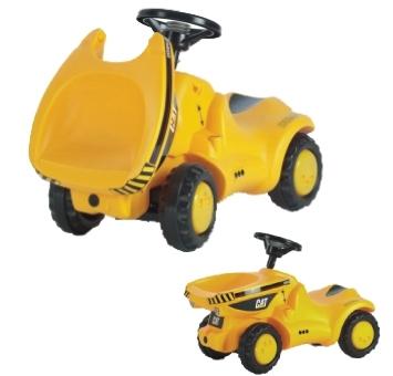 Jalgadega lükatav traktor Cat Dumper