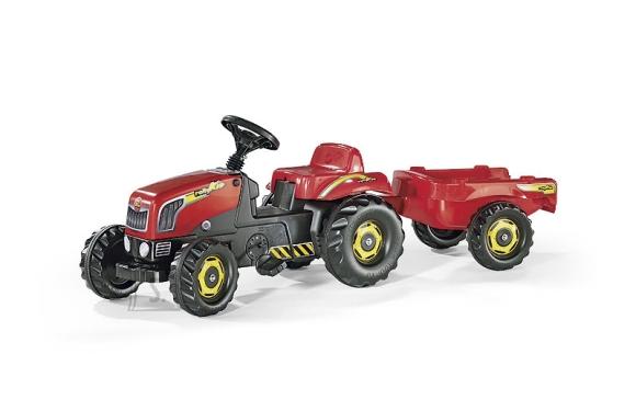 Rolly Toys Rollykid pedaalidega traktor lastele käruga