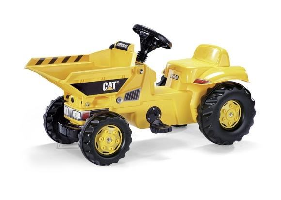 Rolly Toys Dumperkid Cat pedaalidega traktor lastele