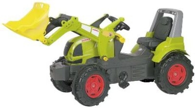 Rolly Toys Pedaalidega traktor lastele Claas Arion 640 kopaga
