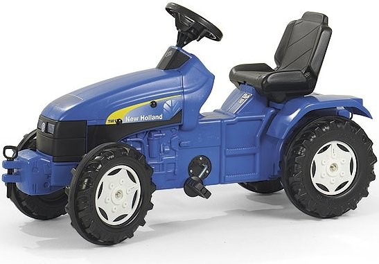 Rolly Toys Pedaalidega traktor New Holland TM175