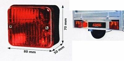 Lampa Käru tagatuli 12V