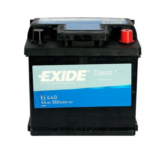 Exide aku Classic 44Ah 360A 207x175x190 -+