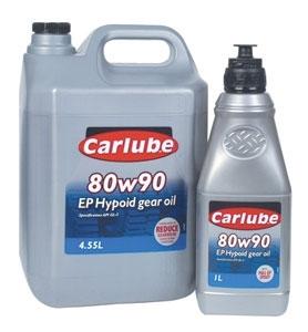 Carlube Carlube Hypoid EP80W/90 4,5l