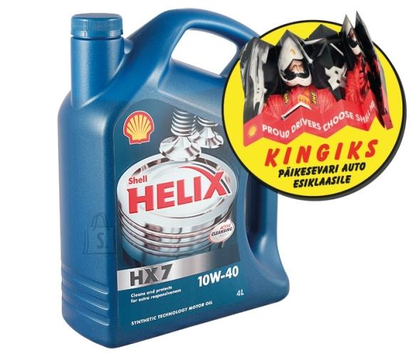Shell sünteetiline mootoriõli HX7 10W-40 4L