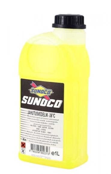 Sunoco jahutusvedeliku valmissegu -36C 1l