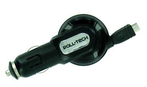 Lampa mikro-USB laadija sigaretisüütajast
