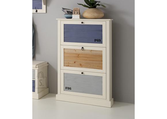 FMD Furniture jalanõudekapp Sylt 4