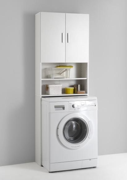FMD Furniture kõrge vannitoakapp Olbia
