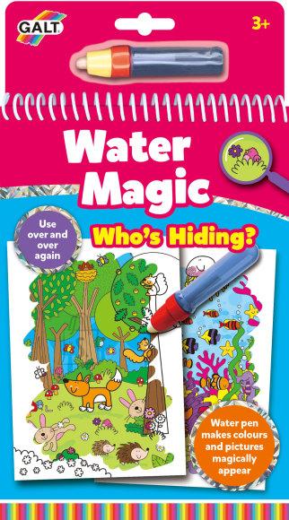 Veemaagia raamat - Kes on peidus