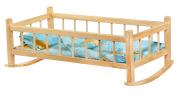 Nuku voodi puidust 59 cm