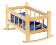 Nuku voodi puidust 35 cm