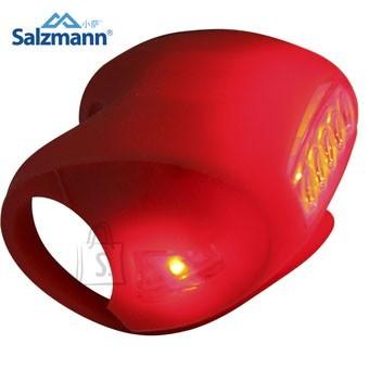 Salzmann Jalgratta tuli punane 5 LED-i