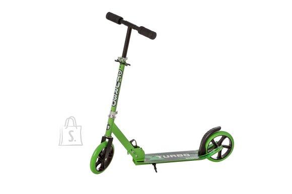 Tõukeratas 200 mm rattaga, roheline