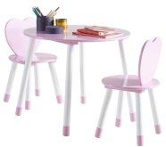 Demeyere laste lauakomplekt Princess laud ja 2 tooli