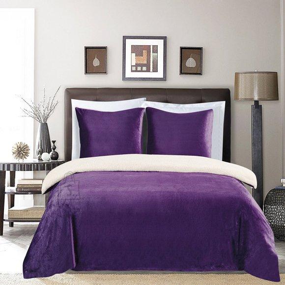 Voodipesukomplekt Teddy Purple